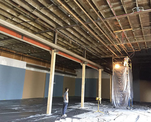commercial painting in calgary