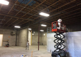 commercial ceiling-spray-painting in calgary