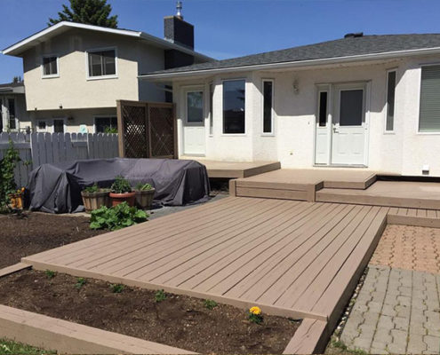 home-deck-painting Calgary