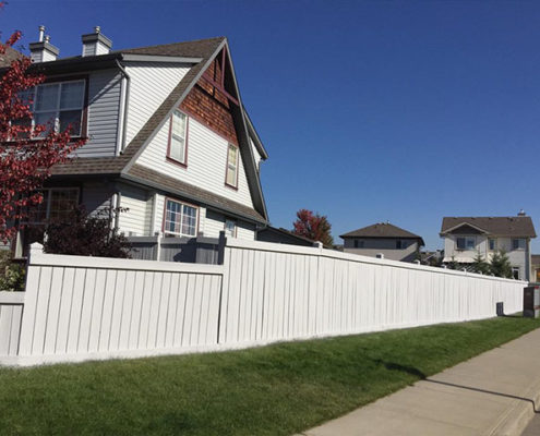 Calgary home-exterior-fence-painting