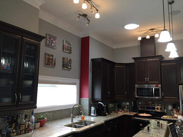 Kitchen Cabinets Painting Calgary Refinishing Refacing Staining