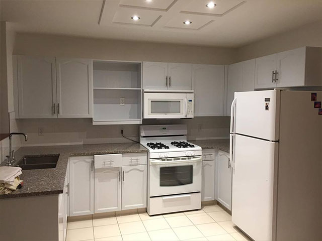 Fantastic Kitchen Cabinets Painting Calgary Refinishing Refacing Home Remodeling Inspirations Genioncuboardxyz