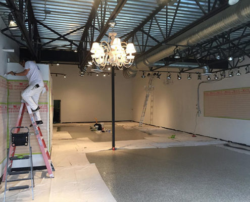 painting commercial in calgary