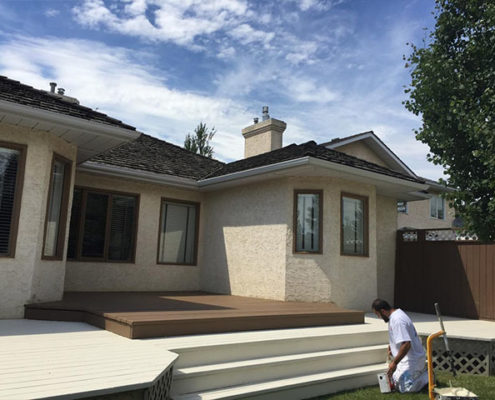 residential-home-decks-paint in calgary